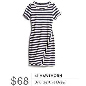 Stitch Fix 41 Hawthorn Brigitte Striped Dress